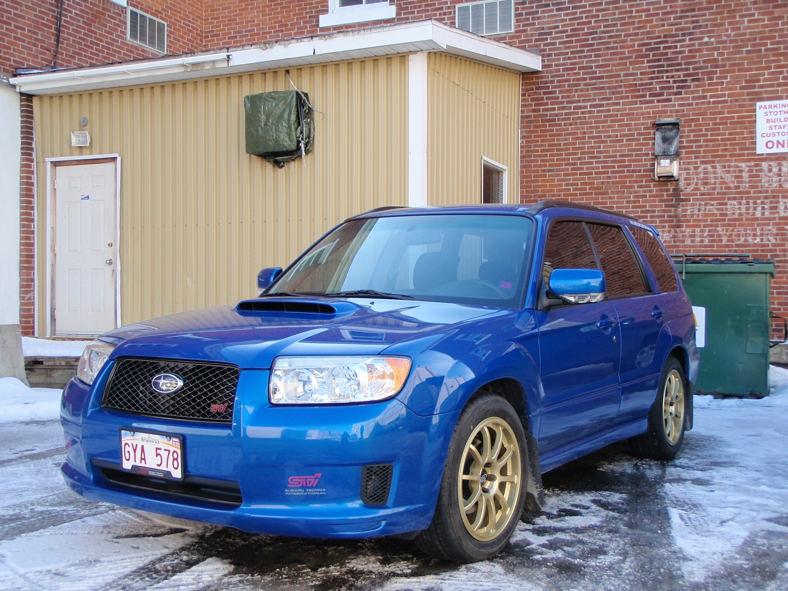 spotthedogg 2007 Subaru Forester