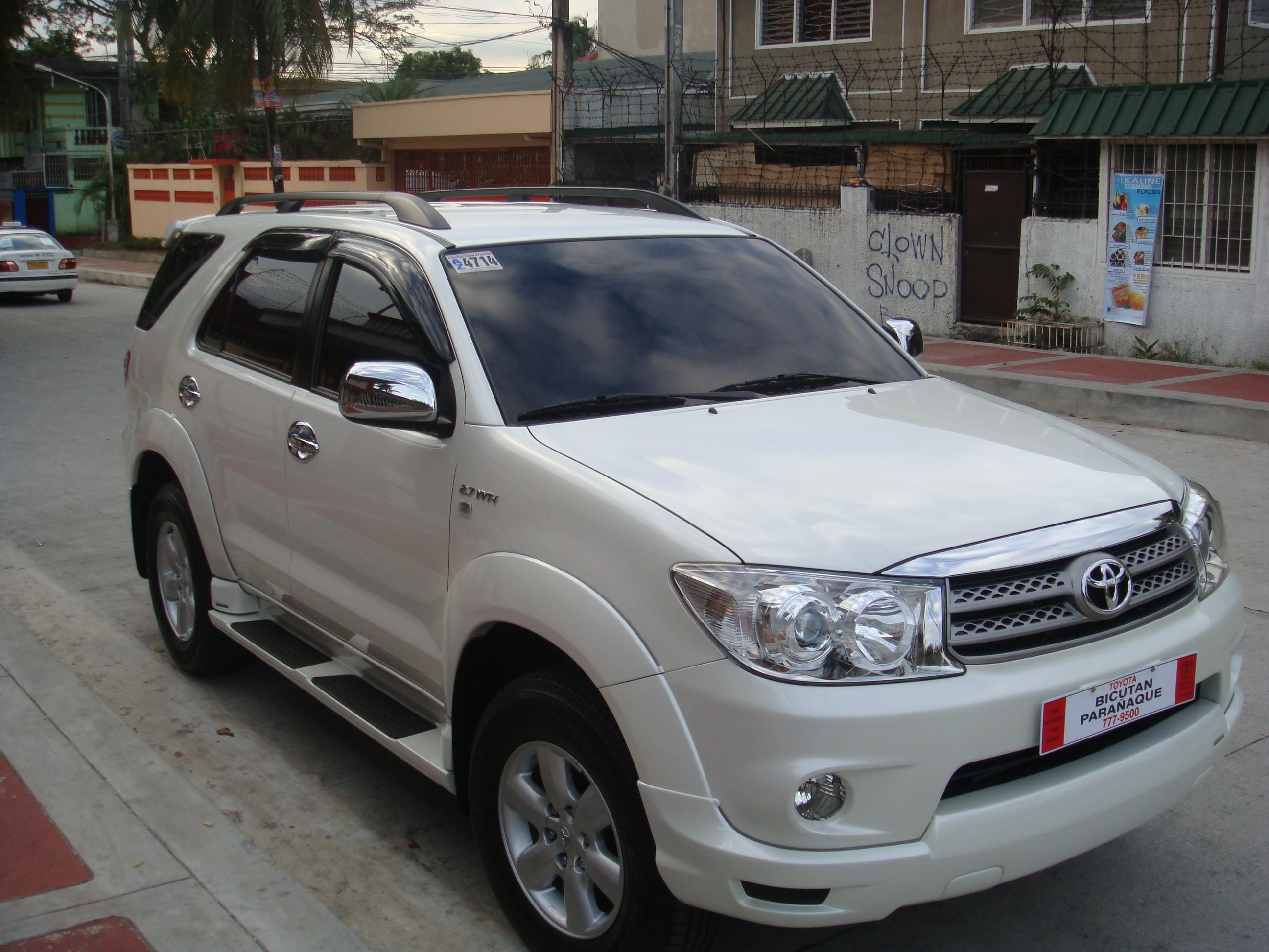 Markandal 2010 Toyota Fortuner Specs Photos Modification Info At Cardomain