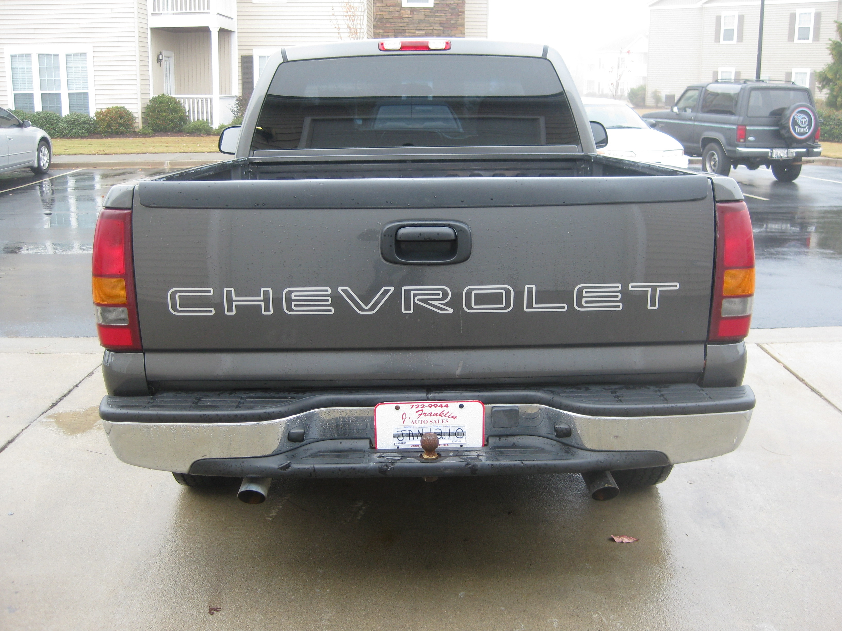 chevyonlexanis 2002 Chevrolet Silverado 1500 Regular Cab 14159295