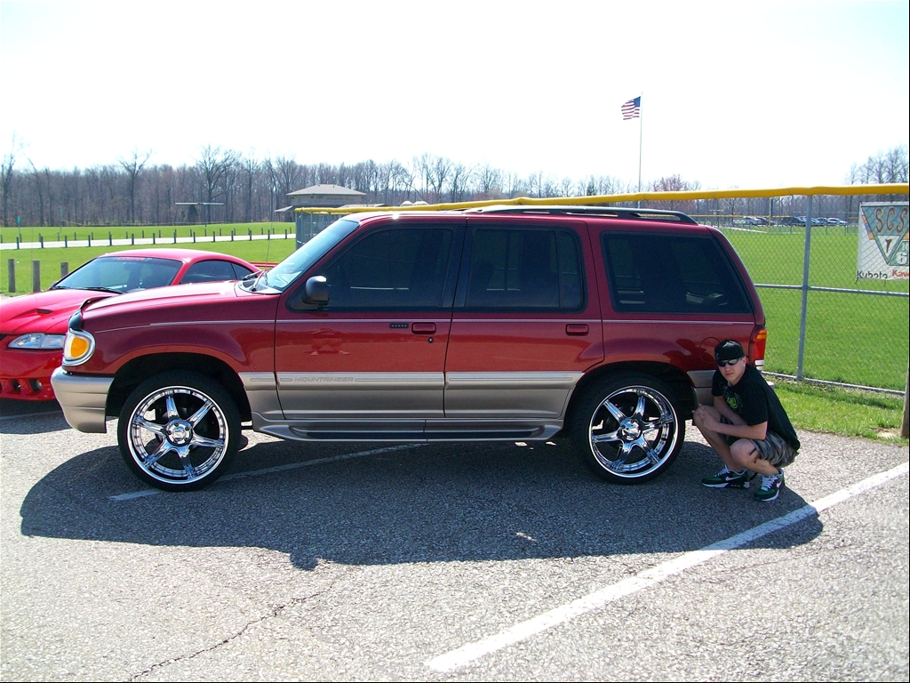 Custom Parts Mercury Mountaineer Pictures
