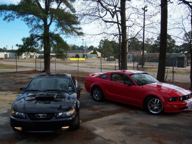 Usaf04gtstang S 2004 Ford Mustang Gt Deluxe Coupe 2d In