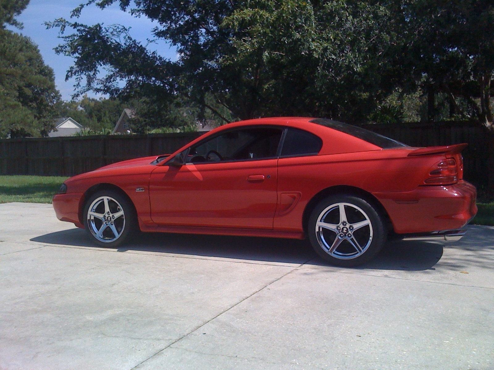 95gts5oh 1995 ford mustang specs photos modification. Black Bedroom Furniture Sets. Home Design Ideas