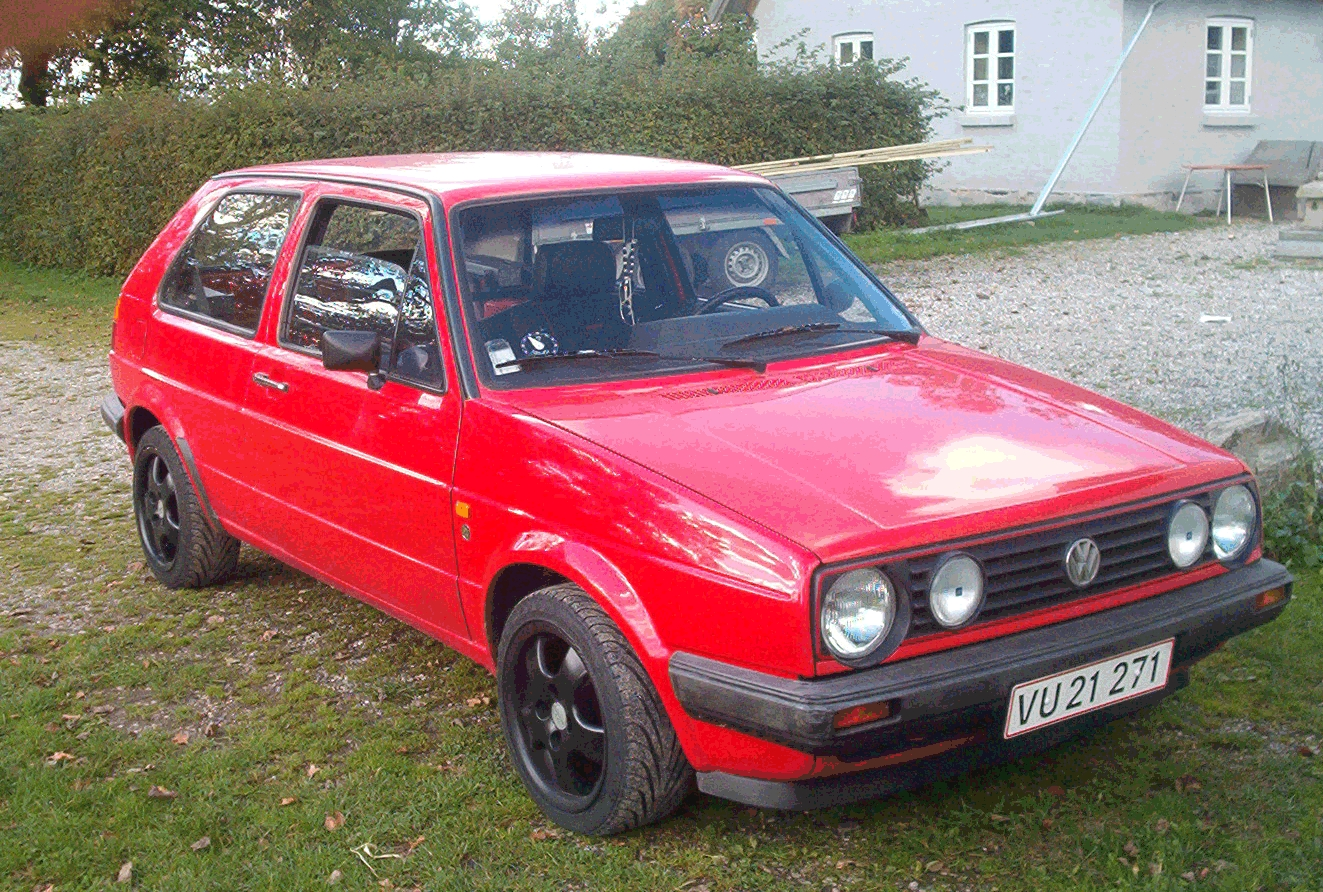 87 volkswagen golf