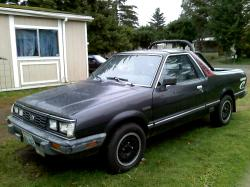 Turbones 1985 Subaru Brat