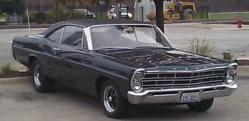 autometerbretts 1967 Ford Galaxie