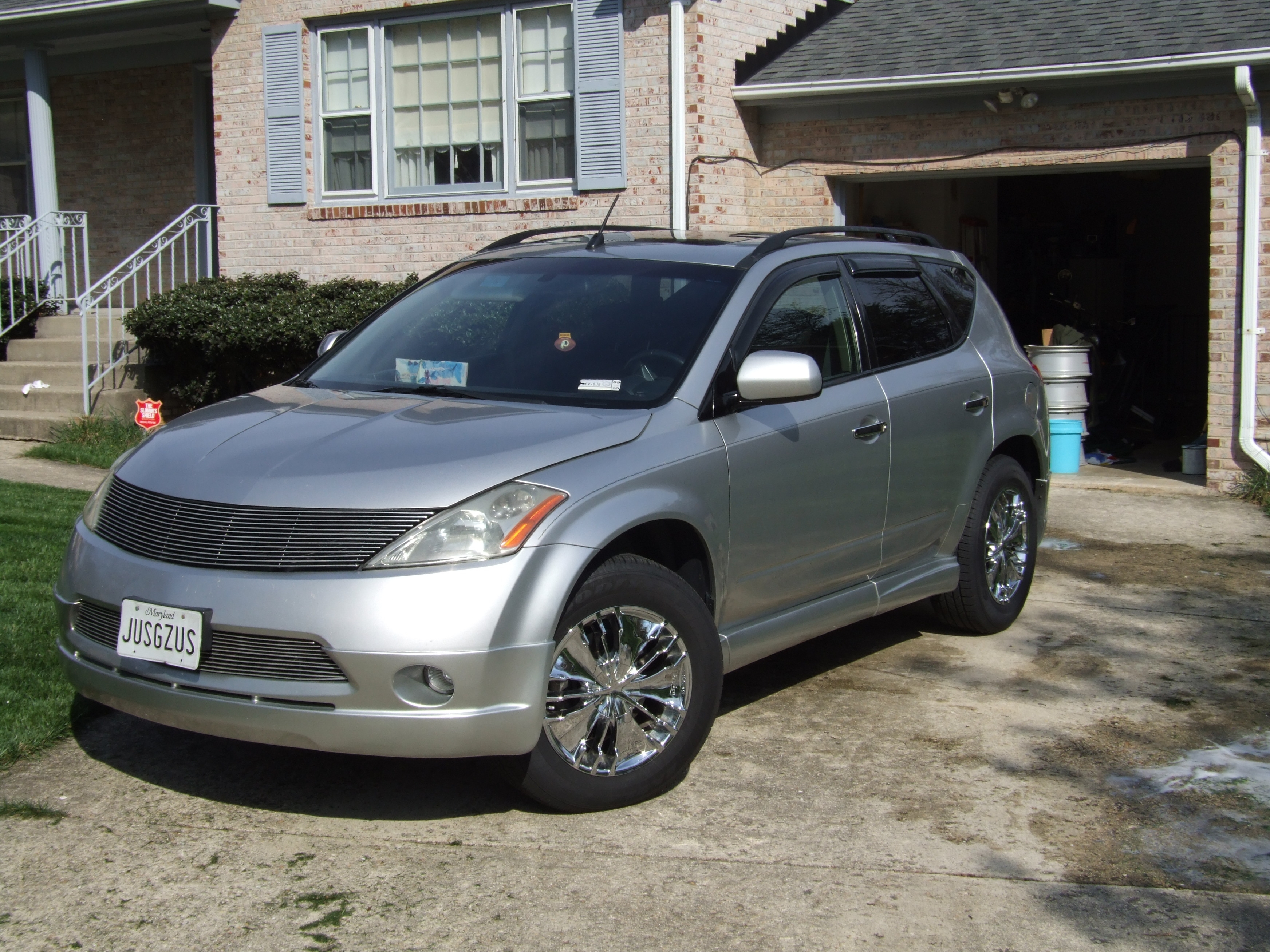 preachtheword 2003 nissan murano specs photos modification info at cardomain. Black Bedroom Furniture Sets. Home Design Ideas
