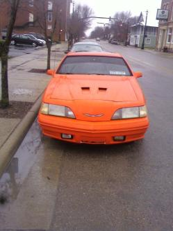 87z24orangeblurs 1988 Ford Thunderbird