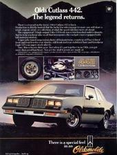 Hitman75 1985 Oldsmobile 442