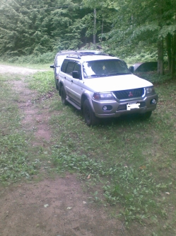 lanzybois 2000 Mitsubishi Montero Sport