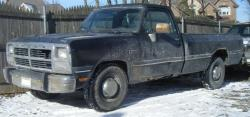 notablazer 1991 Dodge D250 Regular Cab