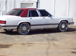 WESTCOAST85 1989 Mercury Grand Marquis