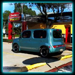 TropicalCubes 2009 Nissan cube