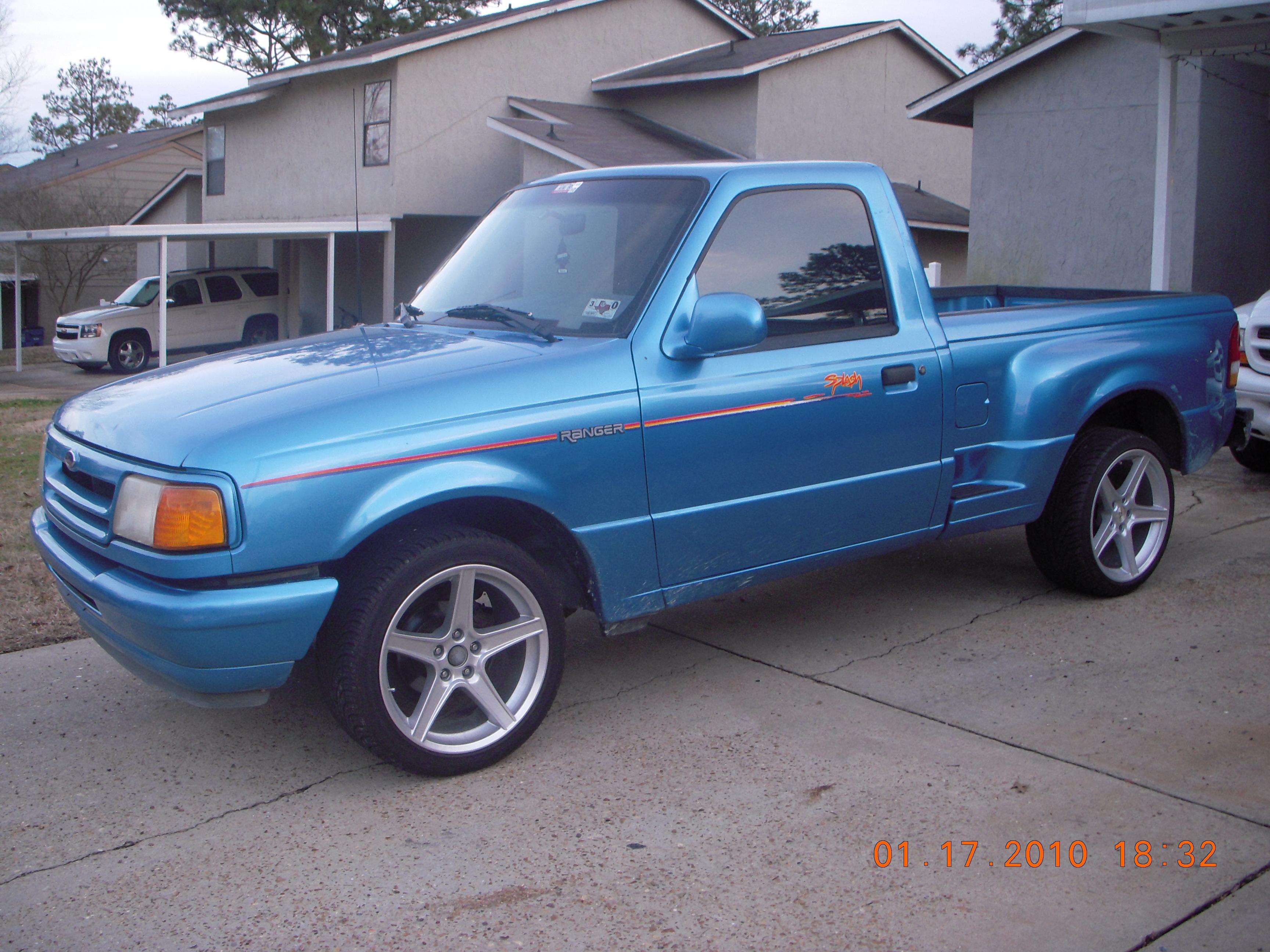 93 ford ranger weight