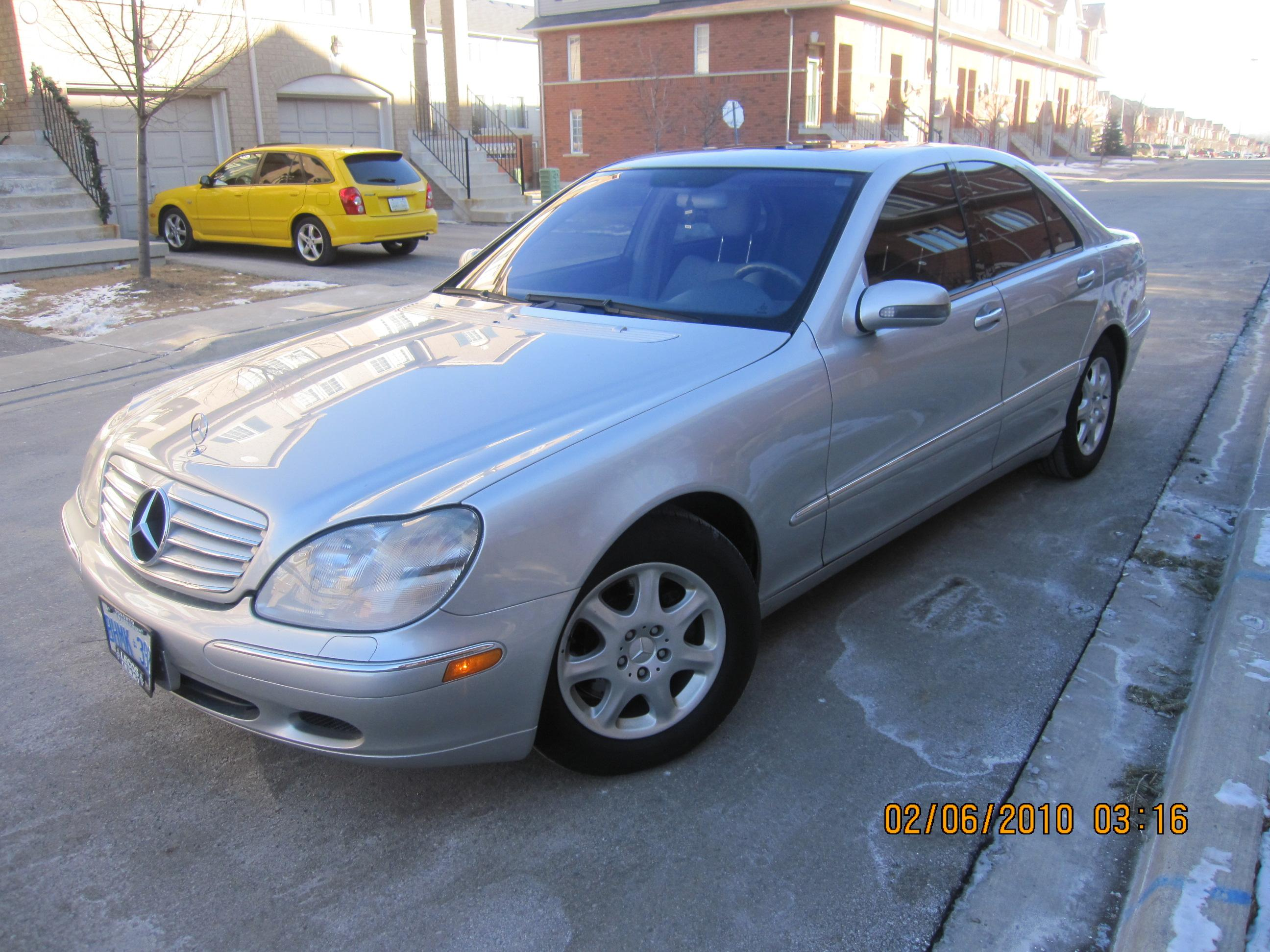 Thehipnotik 39 s 2001 mercedes benz s class in 905 on for Mercedes benz s class 2001