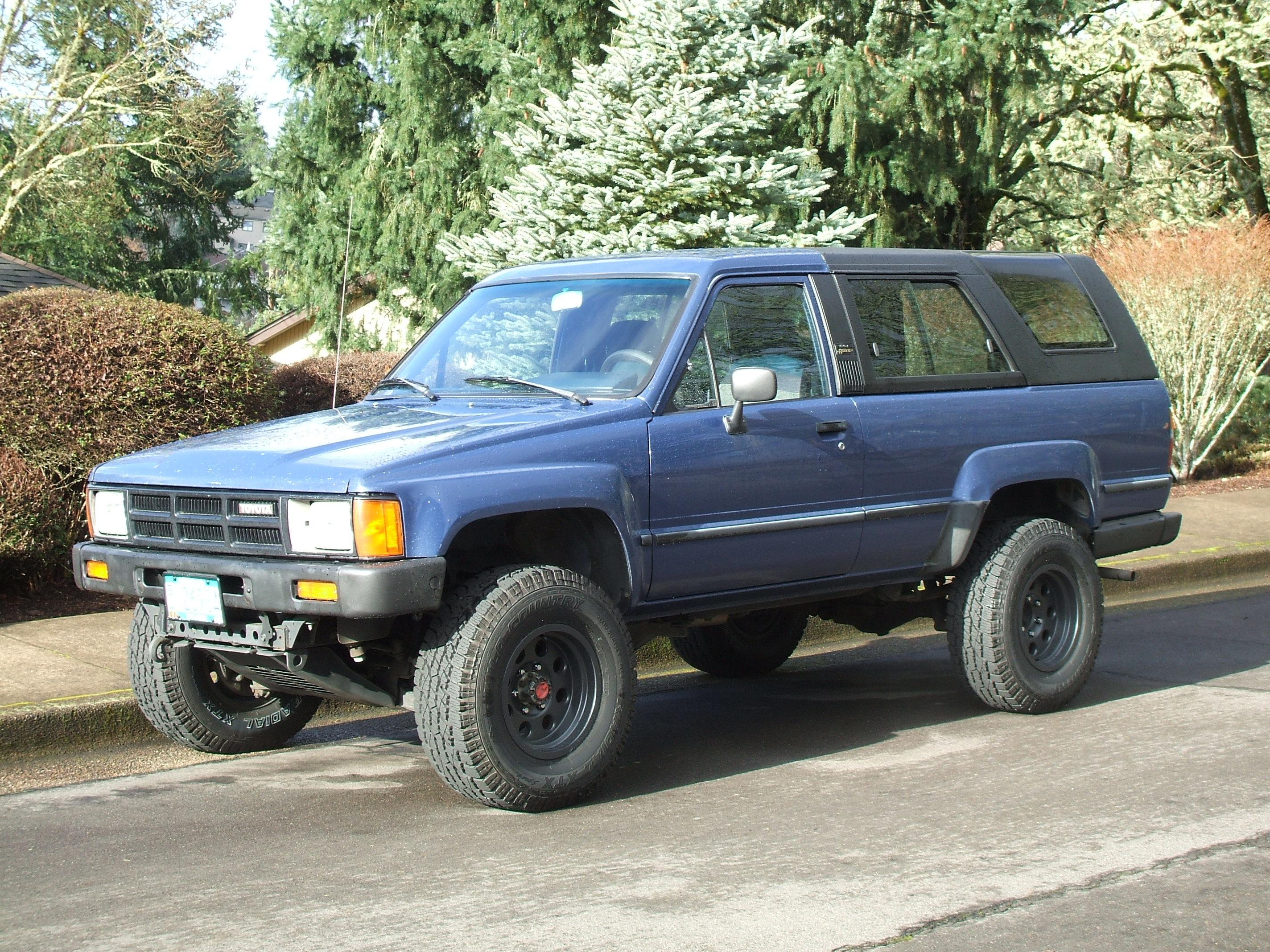 Or19864runner S 1986 Toyota 4runner In Corvallis Or