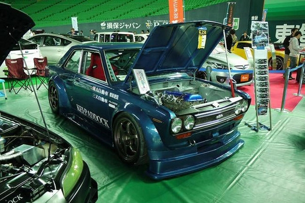 Datsun 510 With A SR20