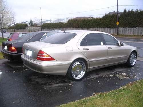 600pearl 39 s 2002 mercedes benz s class in saint constant qc. Black Bedroom Furniture Sets. Home Design Ideas