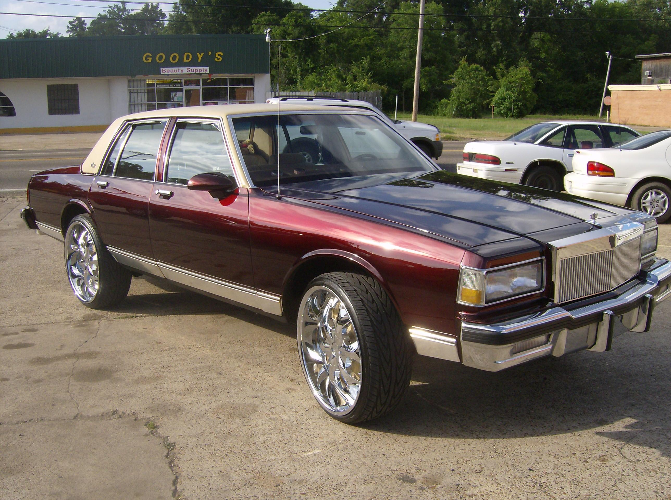 Theshop777 1984 Chevrolet Caprice Specs Photos