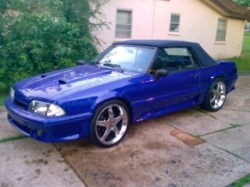 Droptopmontes 1990 Ford Mustang