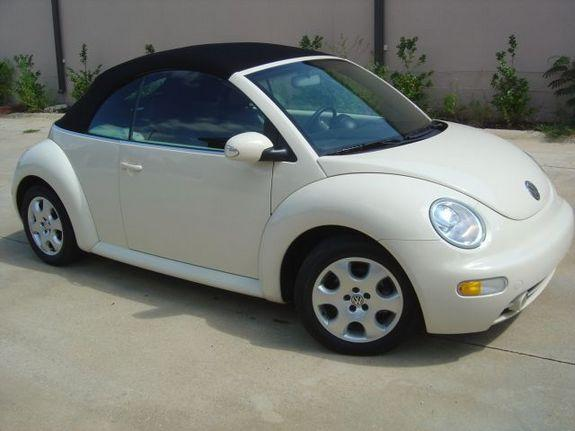 2003 volkswagen beetle convertible reviews