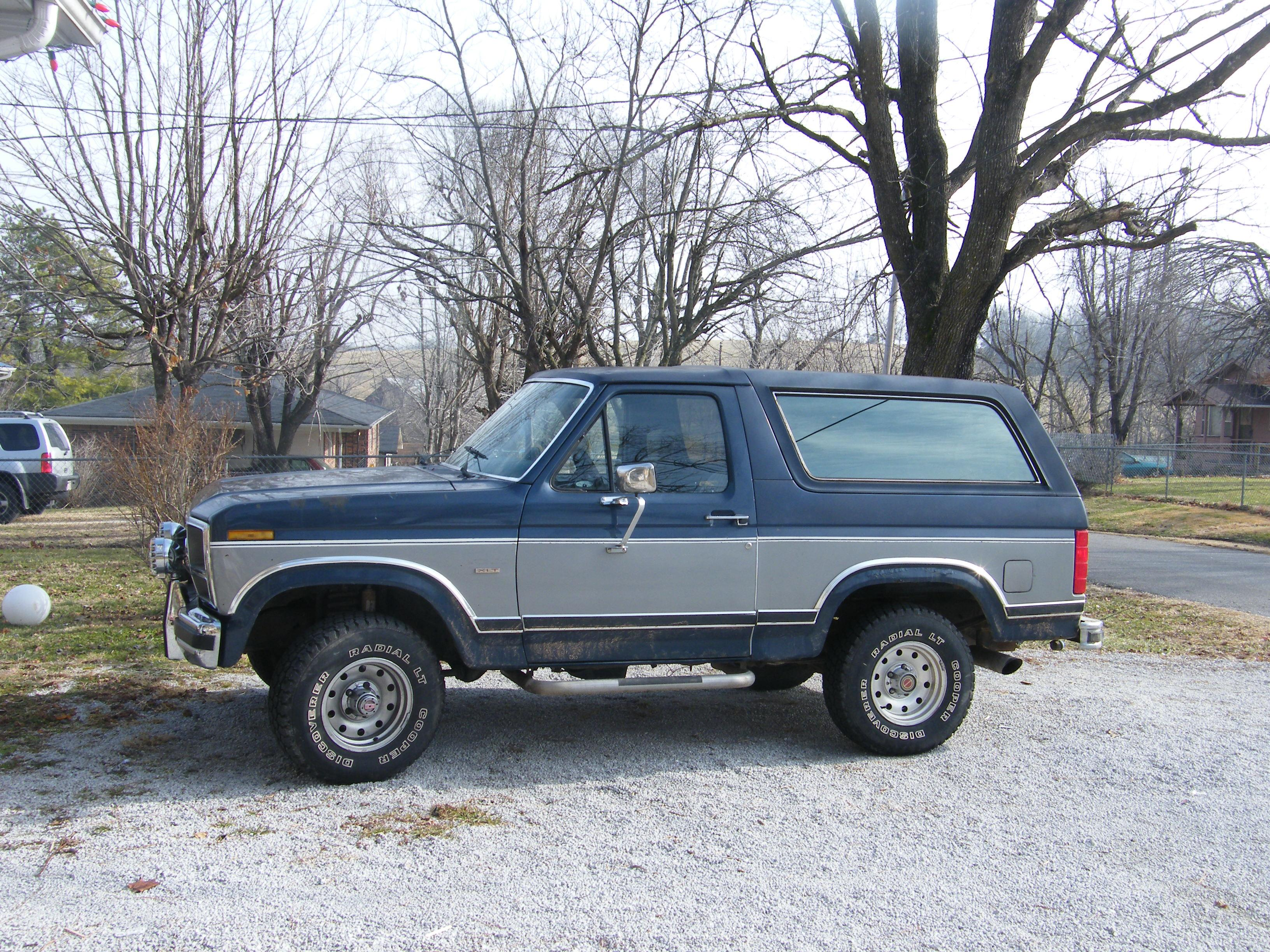 iron hyde 1986 ford bronco specs photos modification. Black Bedroom Furniture Sets. Home Design Ideas