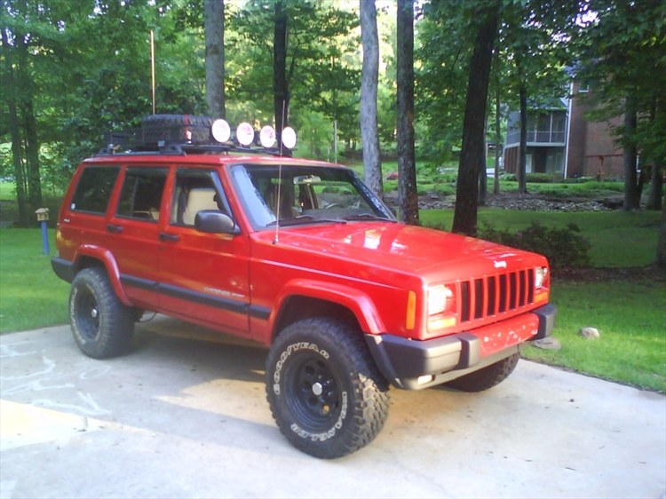 Xj With 3 3 1 2 Quot Lift On 31 S Pic Request Jeepforum Com