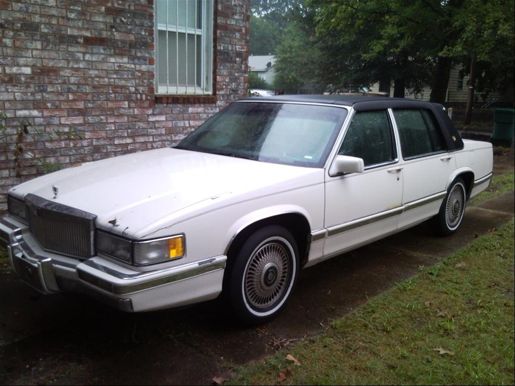 easy1lac 39 s 1993 cadillac deville in pine bluff ar. Black Bedroom Furniture Sets. Home Design Ideas