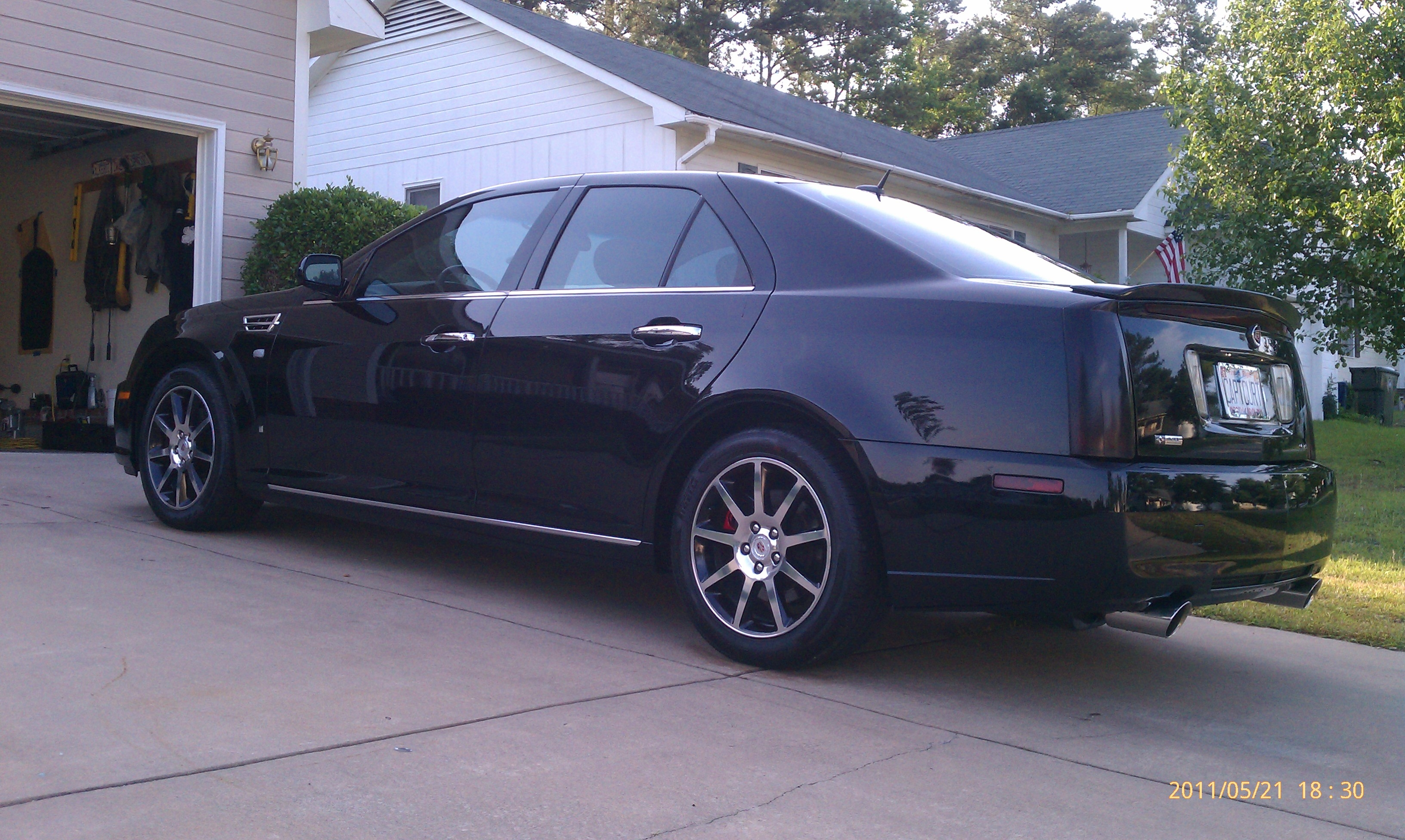 cwalk24 2008 cadillac sts specs photos modification info. Black Bedroom Furniture Sets. Home Design Ideas