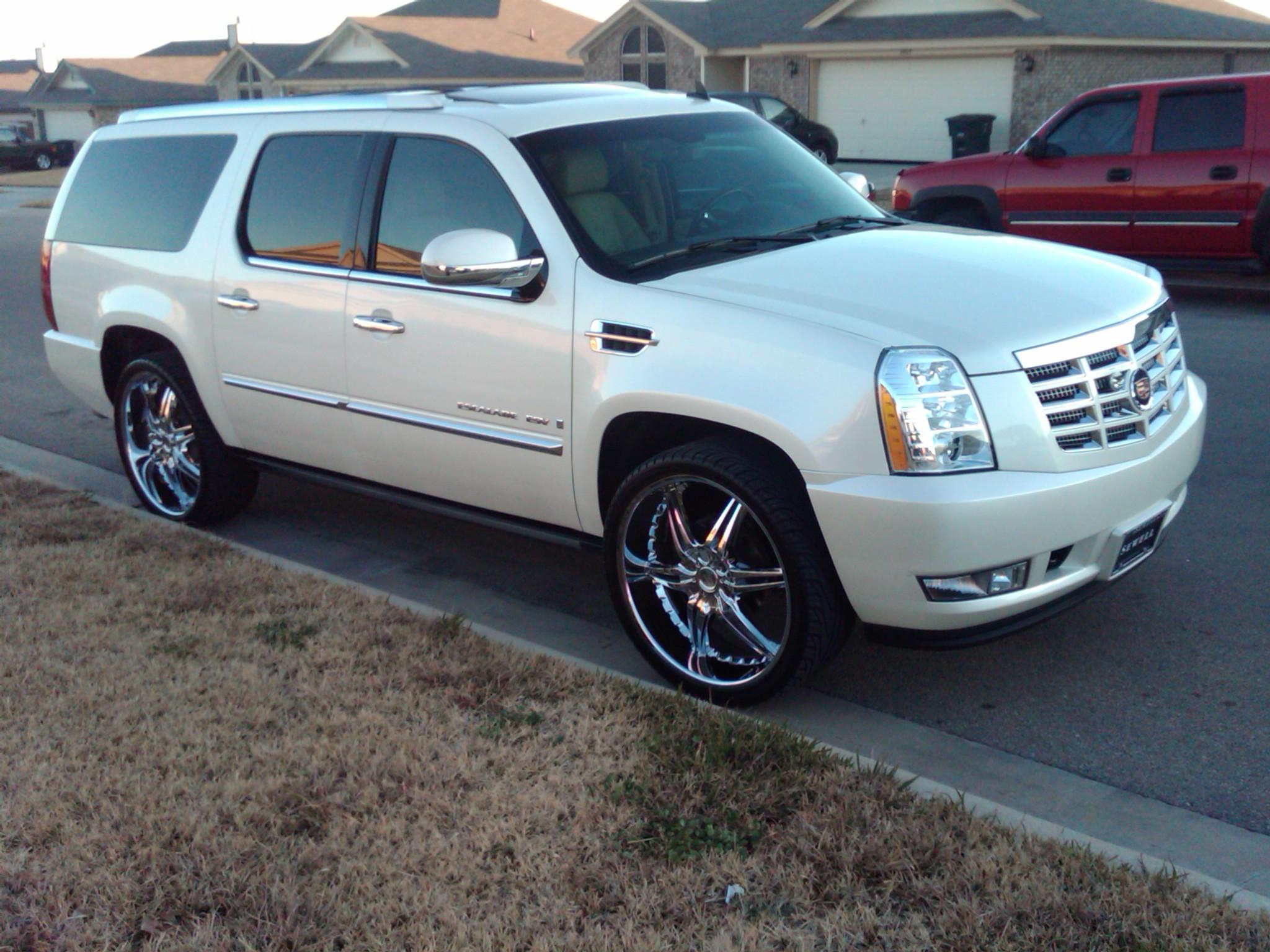 drummy23 2007 cadillac escalade specs photos modification info at cardomain. Black Bedroom Furniture Sets. Home Design Ideas