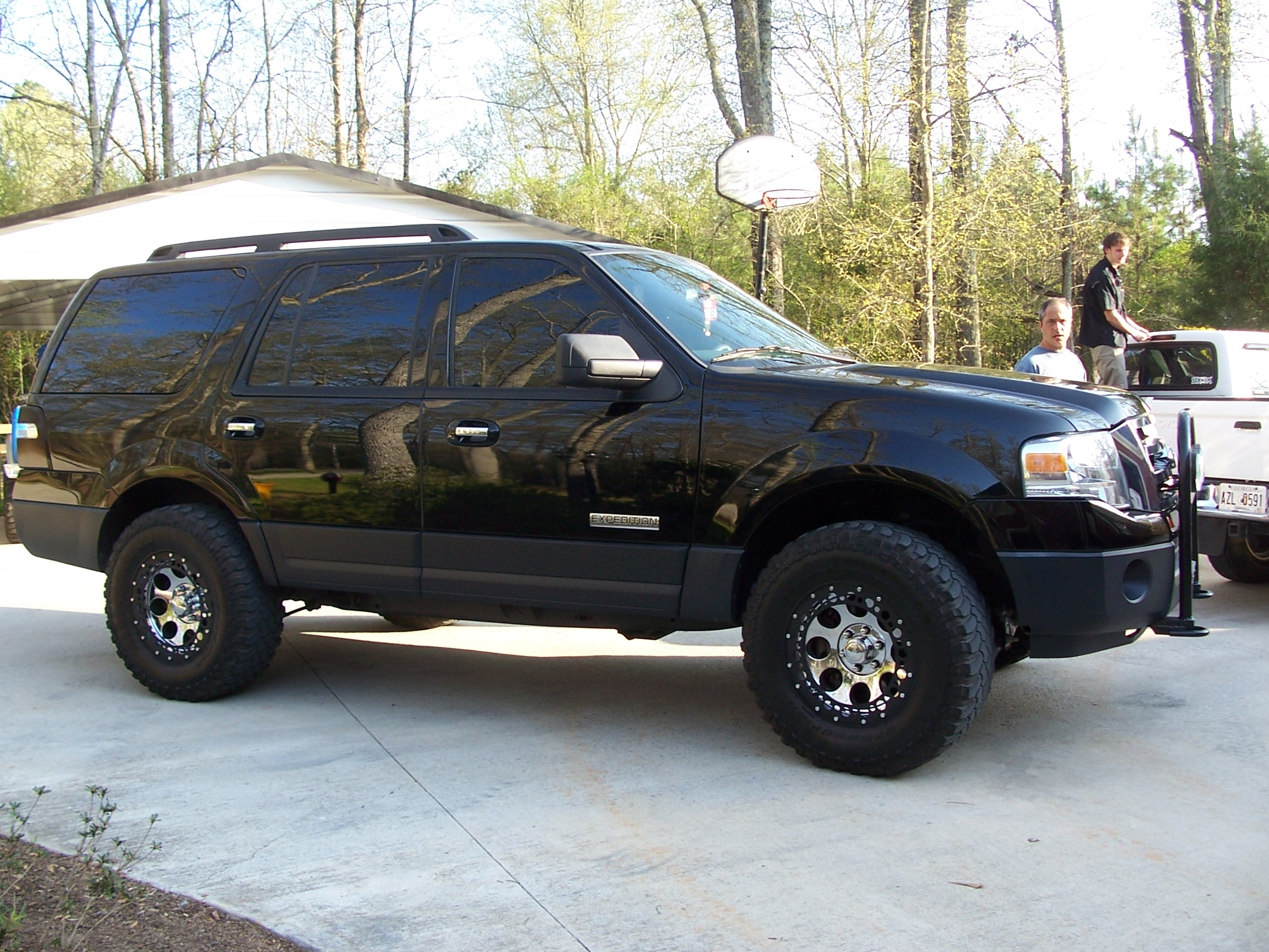 09titan33 2007 Ford Expedition Specs Photos Modification Info At