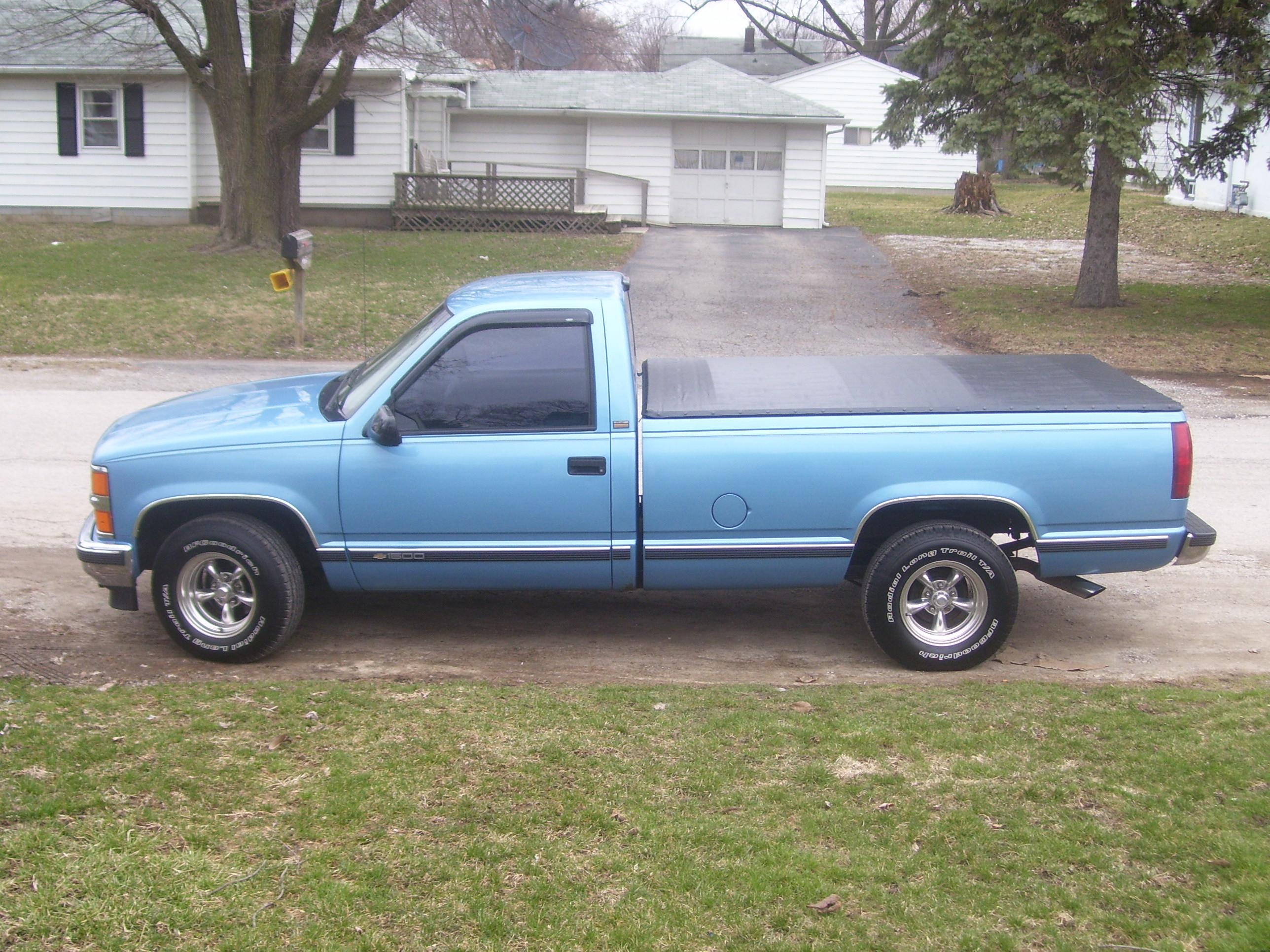 blue bandit 1996 chevrolet silverado 1500 regular cab. Black Bedroom Furniture Sets. Home Design Ideas