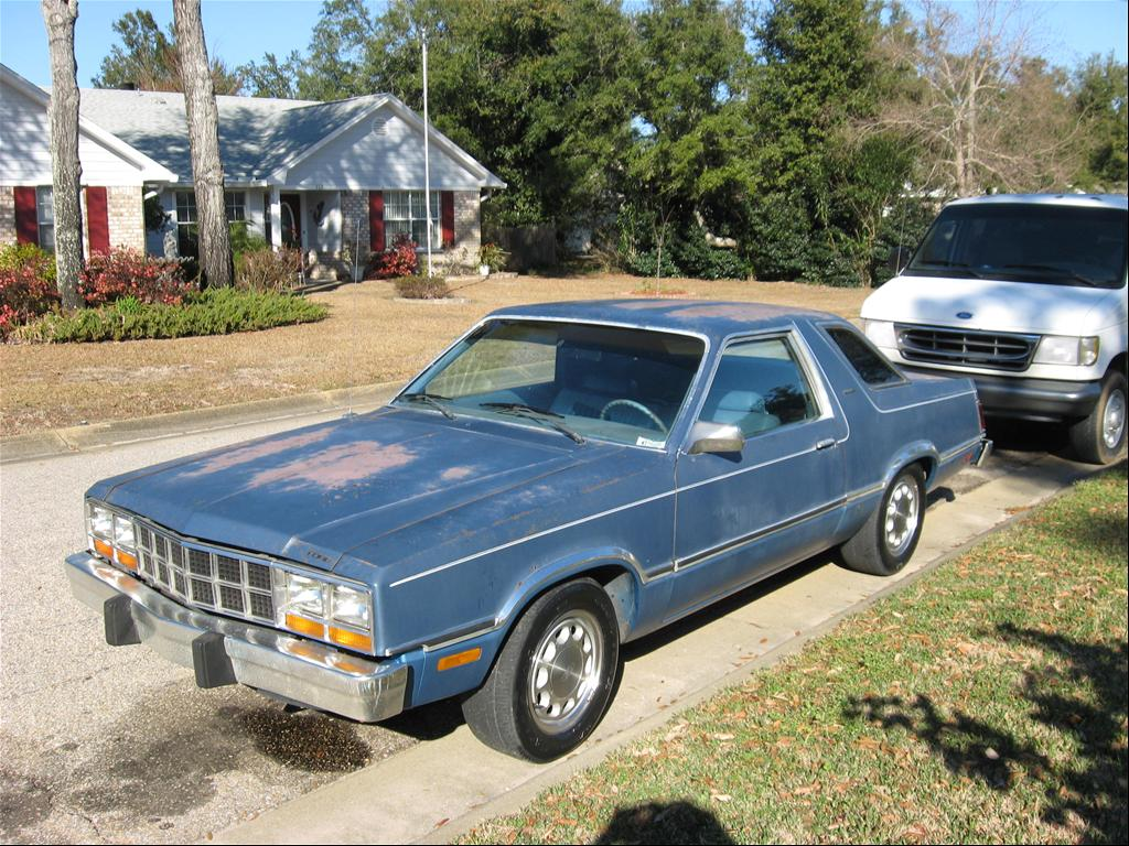 My 1981 Ford Fairmont Futura