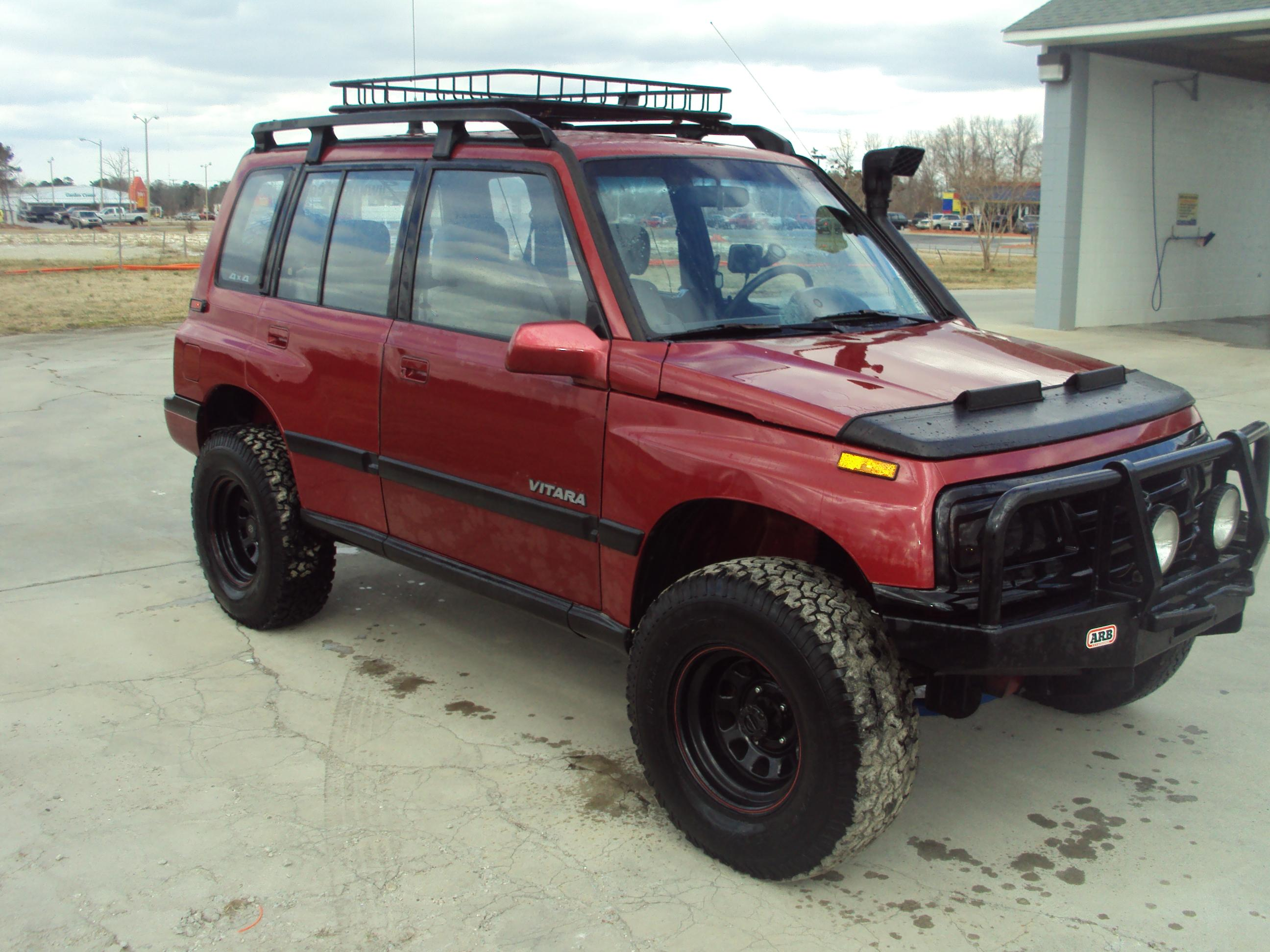 TOnKaTrAcKeR 1991 Suzuki Vitara Specs, Photos