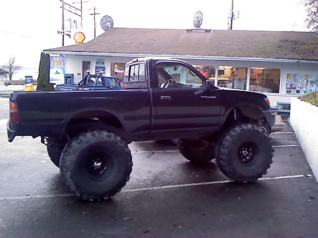 Fabtech Motorsports Springs Installed On 1999 Toyota Tacoma Xtra Cab