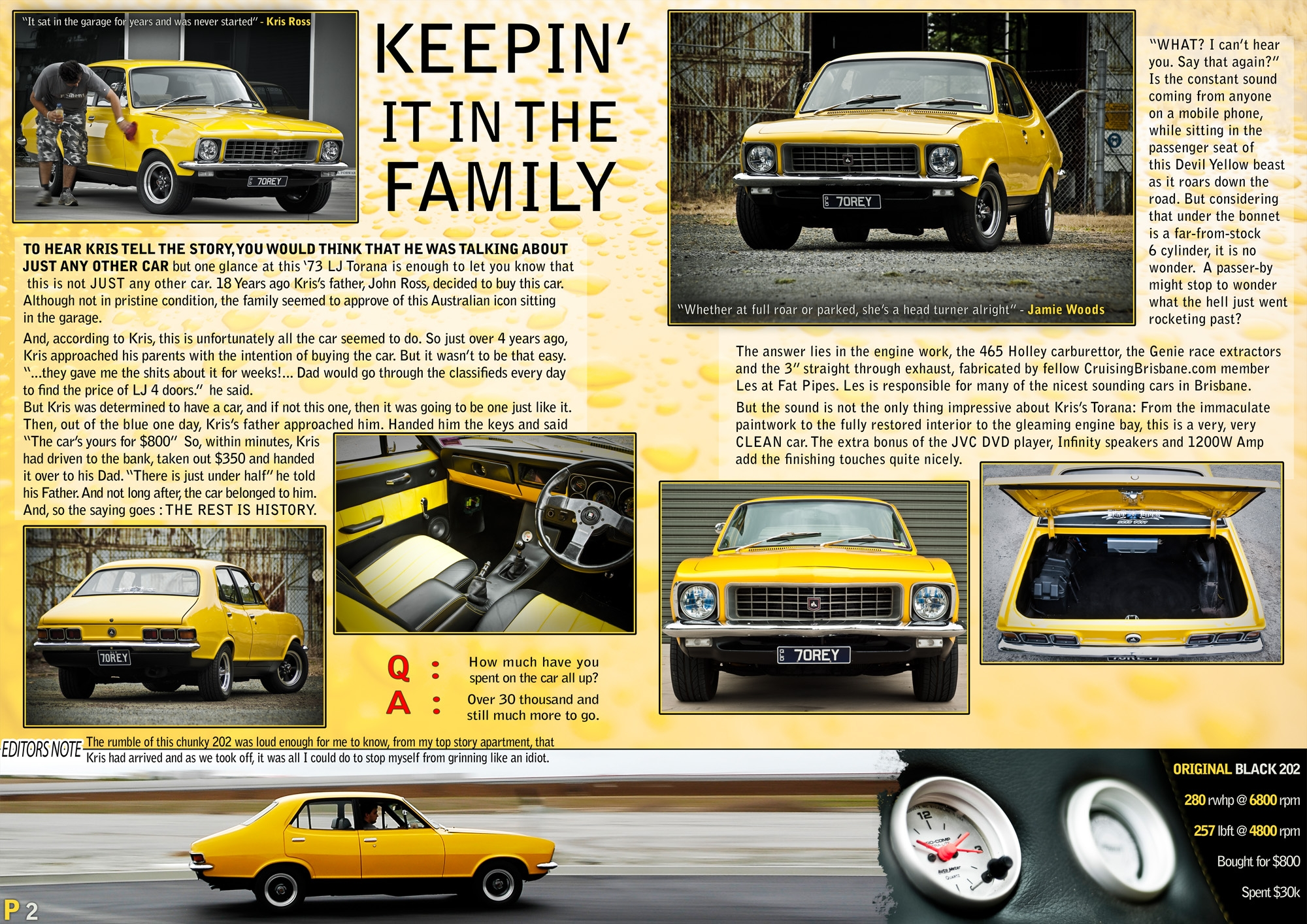 Another Retox 1973 Holden Torana post... - 14237685