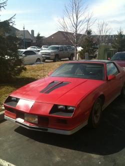 e_coe25s 1982 Chevrolet Camaro