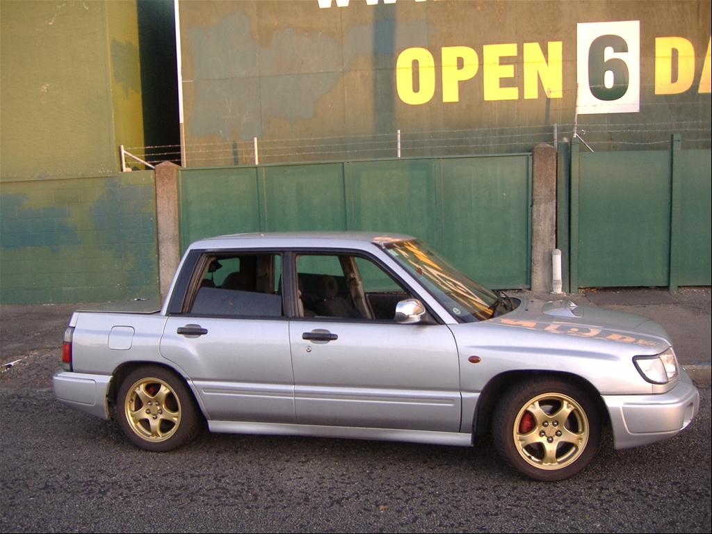 Custom Ute Conversion Spotted Subaru Forester Owners Forum