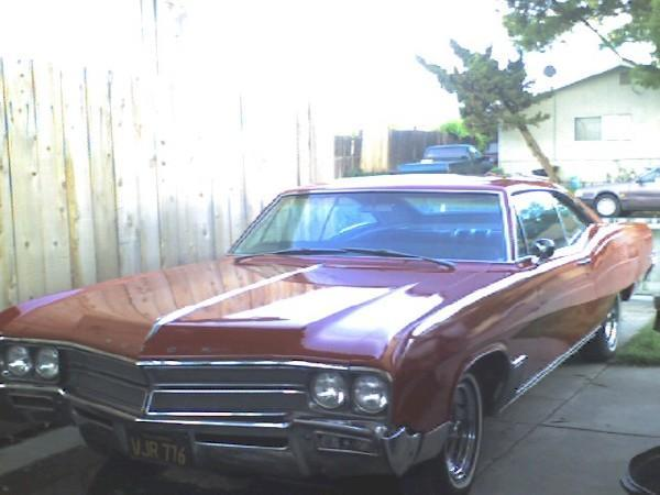 Original on 1967 Buick Wildcat
