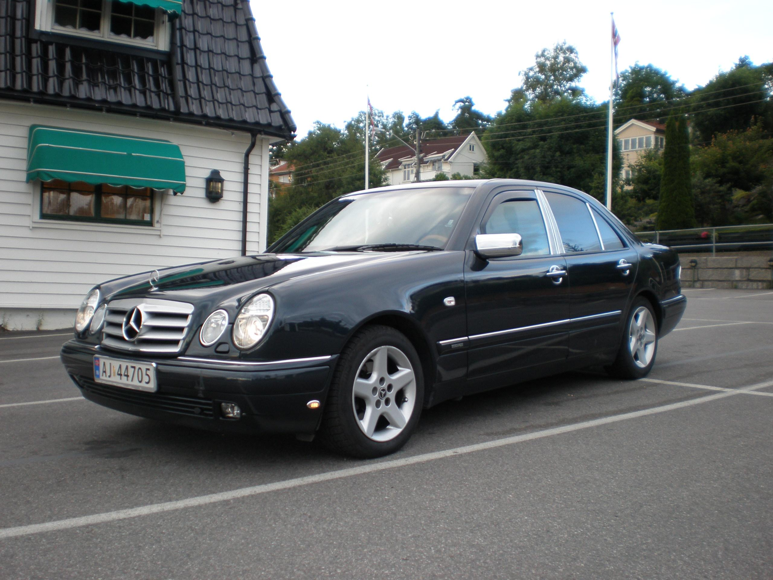 Getman007 39 s 1999 mercedes benz e class in oslo for 1999 mercedes benz e class