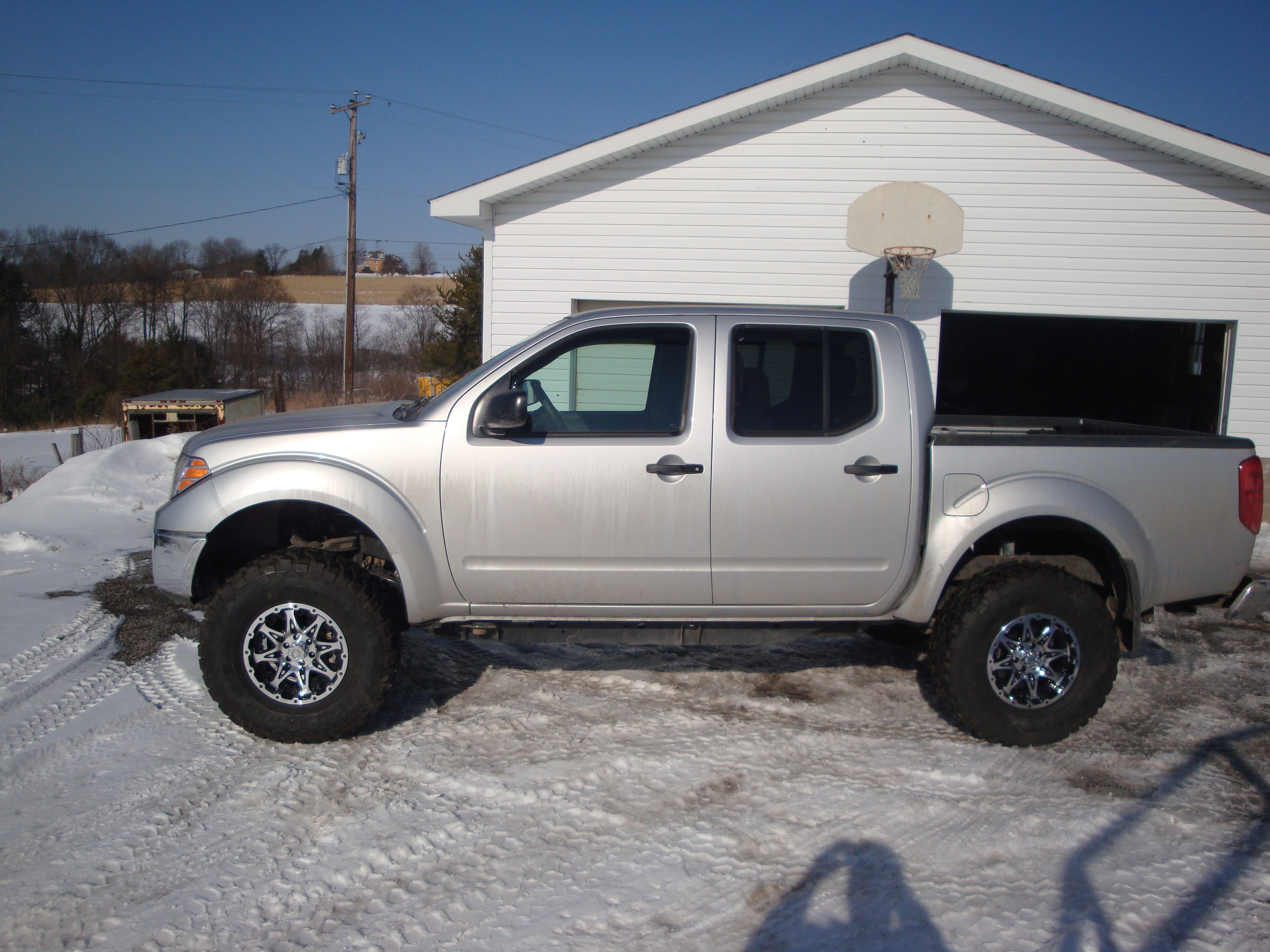 gristle1 2009 nissan frontier crew cabse pickup 4d 5 ft specs photos modification info at. Black Bedroom Furniture Sets. Home Design Ideas