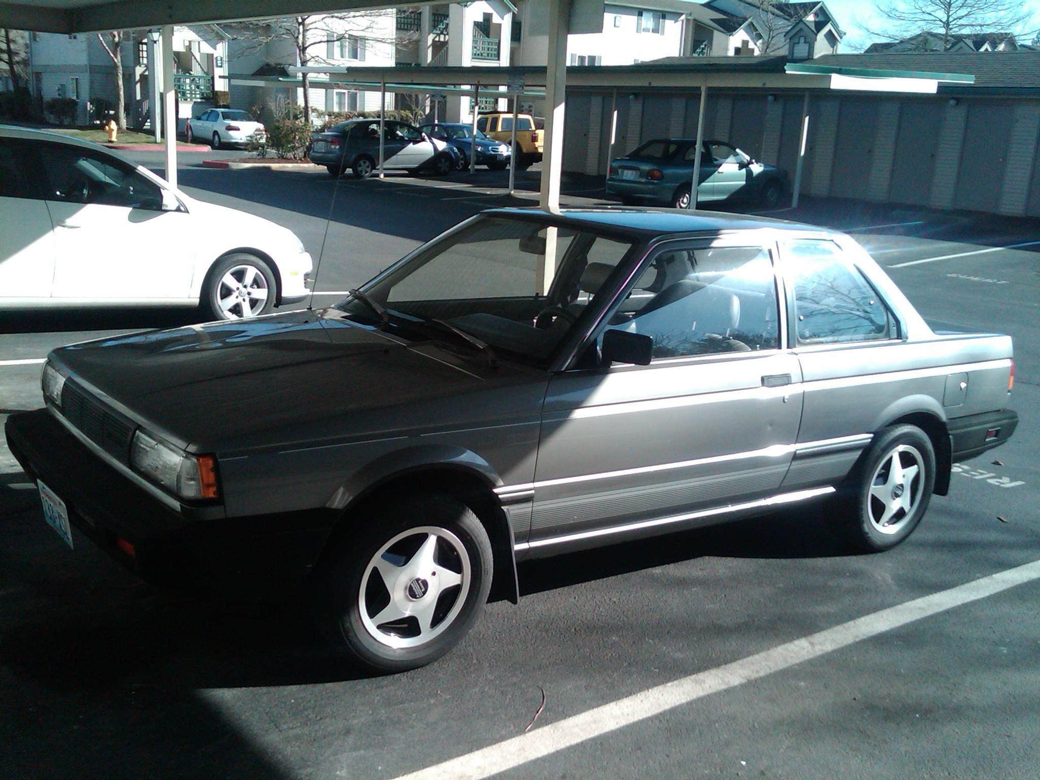 aaryus 1987 nissan sentra specs photos modification info. Black Bedroom Furniture Sets. Home Design Ideas