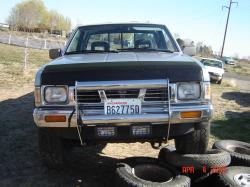 wmbthe4 1990 Nissan D21 Pick-Up
