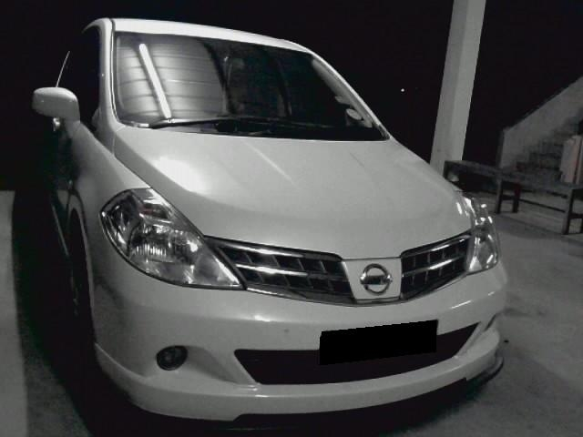 Another white demons 2009 Nissan Versa post... - 14258707