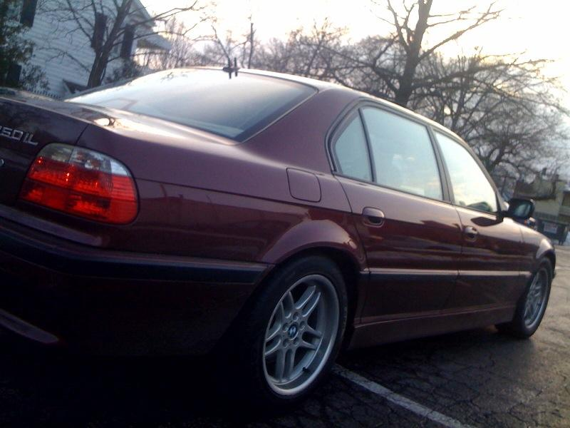 Skyline09 2001 BMW 7 Series 38377980001 Original