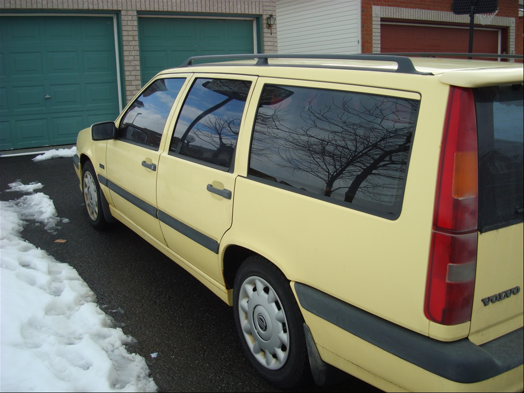 1995 Volvo 850 T5-R Yellow