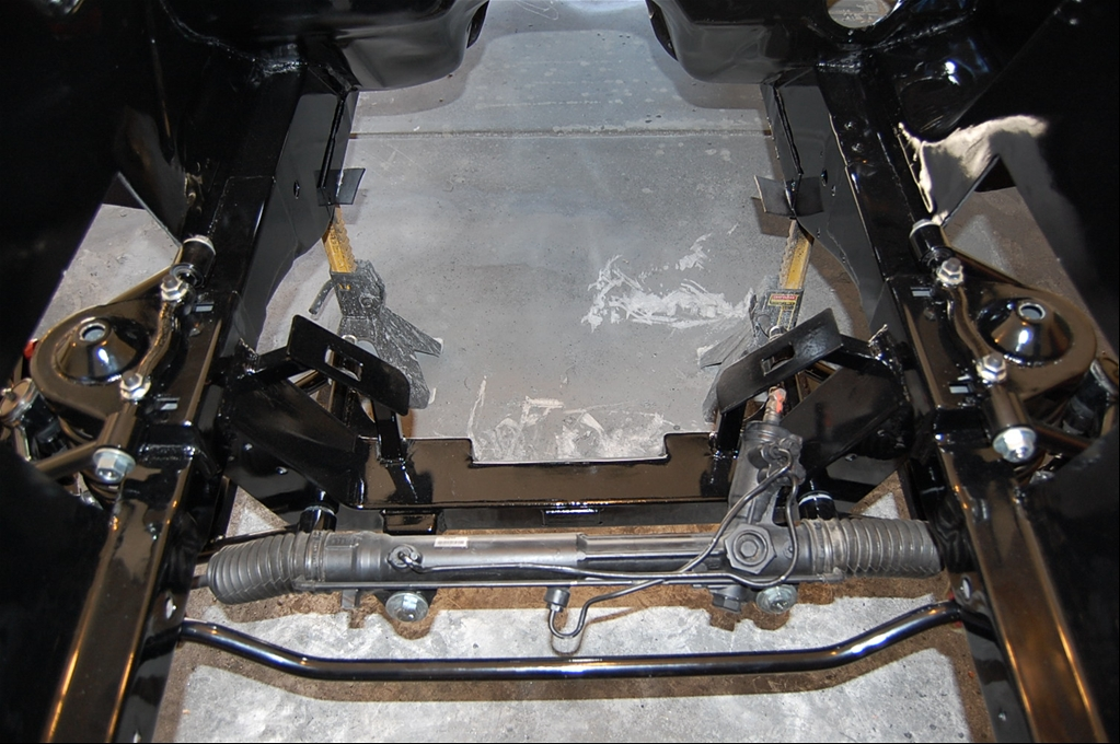 Who has installed and DRIVEN mustang II setups / Rod and