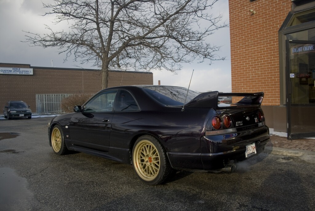 rightdrive 1995 Nissan Skyline 14272911