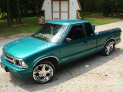 superchevy69s 1995 Chevrolet S10 Regular Cab
