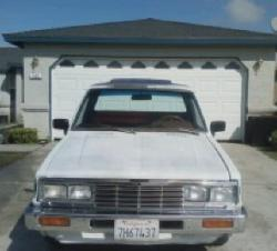 250657s 1985 Nissan 720 Pick-Up