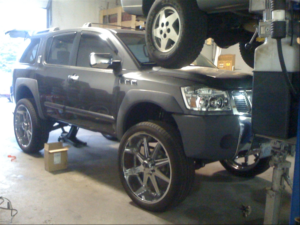 Prohductkettri 2005 Nissan Pathfinder Lifted